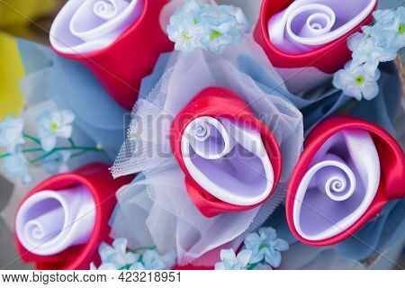 Bunch Of Flowers,flower Bouquets,flowers Background