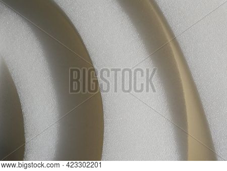 White Furniture Foam Rubber For The Manufacture Of Sofas And Mattresses