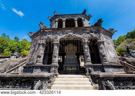 Khai Dinh Mausoleum Hue Vietnam