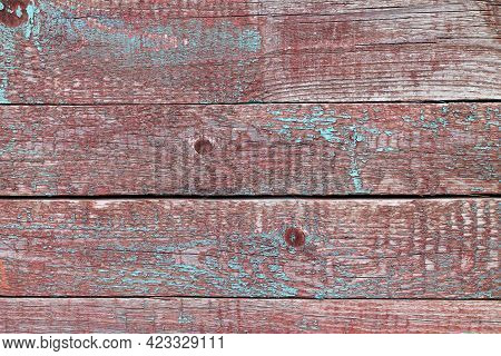 Old Weathered Wooden Barrels, Planks Or Fence Textured Background