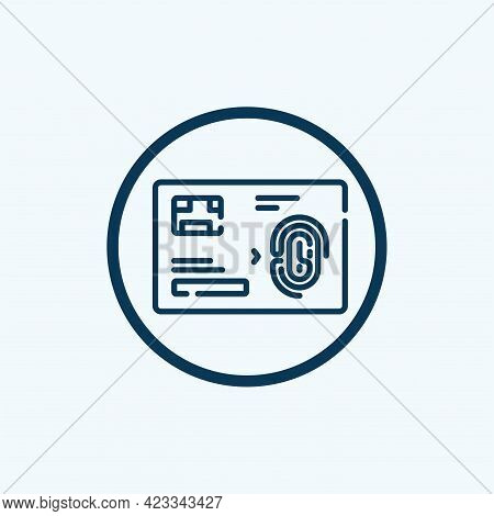 Esim Chip Card Concept Icon. Embedded Sim Card Cellular Mobile Technology Smart Concept