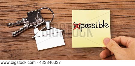 Mission Possible Impossible. House Keys. Real Estate Property