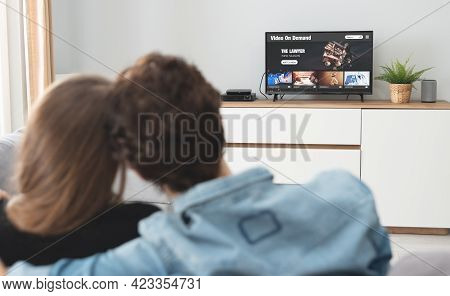 Video On Demand, Tv Streaming, Multimedia Concept