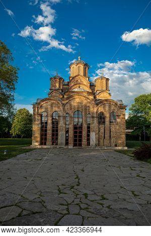 Gracanica, Serbian monastery near Pristina, Kosovo, Serbia