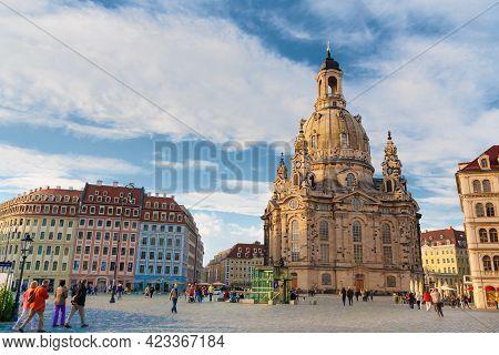 Dresden, Germany - May 24, 2010: Rebuild