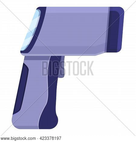 Medical Laser Thermometer Icon. Cartoon Of Medical Laser Thermometer Vector Icon For Web Design Isol
