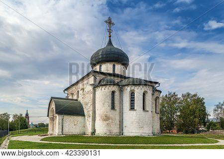 Saint George Cathedral Was Built Between 1230 And 1234 In  Yuryev-polsky