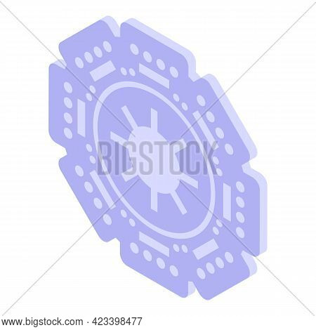 Drive Clutch Icon. Isometric Of Drive Clutch Vector Icon For Web Design Isolated On White Background