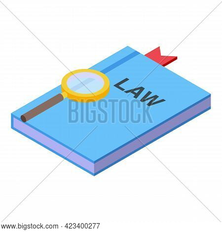 Consumer Rights Law Icon. Isometric Of Consumer Rights Law Vector Icon For Web Design Isolated On Wh