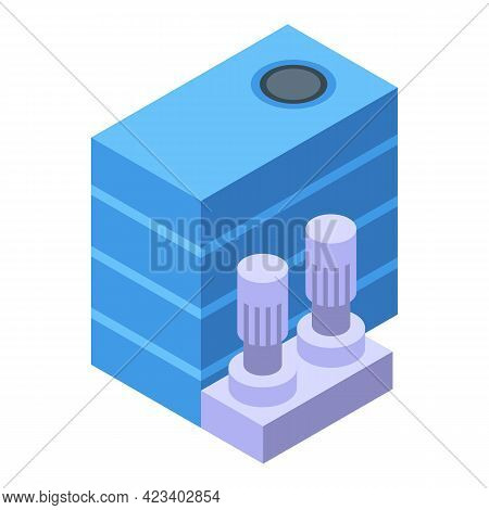 Water Purification System Icon. Isometric Of Water Purification System Vector Icon For Web Design Is