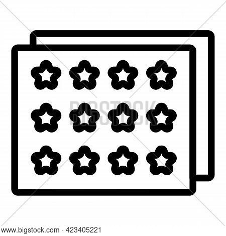 Event Planner Period Icon. Outline Event Planner Period Vector Icon For Web Design Isolated On White