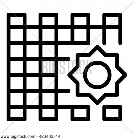 Event Planner Wedding Icon. Outline Event Planner Wedding Vector Icon For Web Design Isolated On Whi