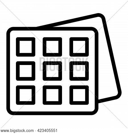Event Planner Office Icon. Outline Event Planner Office Vector Icon For Web Design Isolated On White