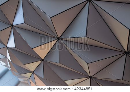 Underside of a Geodesic Dome