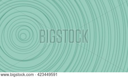 Circles With Shadow Arranged In Random Order. Abstract Background. Monochrome Color. Minimalistic De