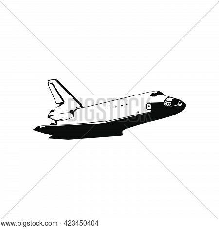 Illustration Vector Graphic Of Shuttle Plane Design