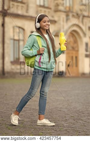 Health Care In Childhood. Healthy Drink For Teen. Feel Thirsty. Girl Care Body Hydration. Active And