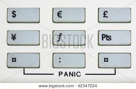 Currency Keypad With Panic Keys