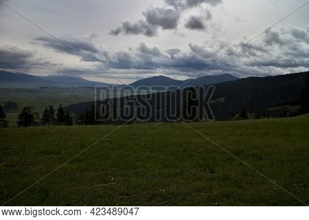 Poludnica And Sina Mountains In Terms Of Hiking On The Hill Of Predna Magura