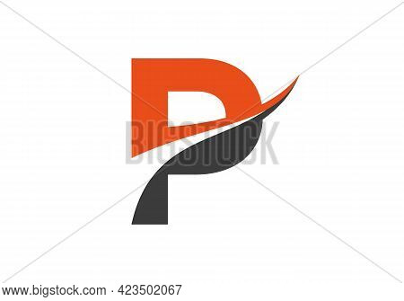 Modern P Logo Design For Business And Company Identity. Creative P Letter Logo