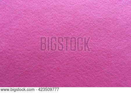 Soft Pink Felt Fabric. Felt Texture For Background