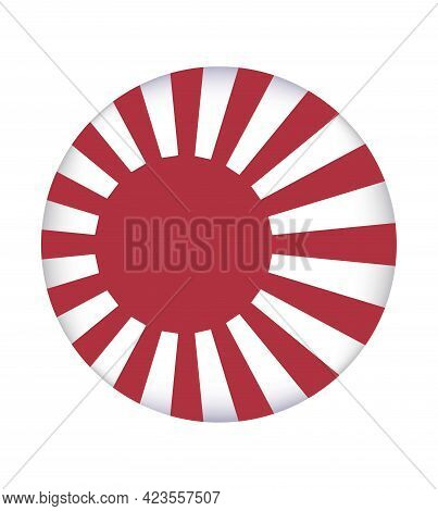 The Rising Sun Flag Symbolizes The Sun. The Rising Sun Flag Is A Japanese Flag That Consists Of A Re