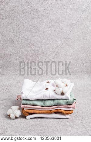 Gender Neutral Baby Garment. Organic Cotton Clothes, Newborn Fashion