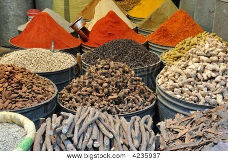 Spices For Sale In Morocco