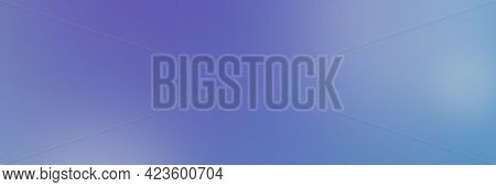 Abstract Gradient Dark Blue Soft Color Background. Cyan Blue Color Mix With Petunia Purple And Egret