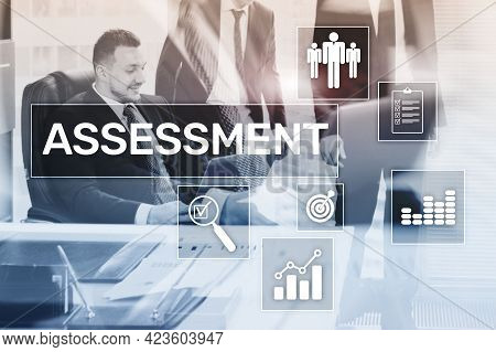 Assessment Analysis Analytics Technology Concept On Business Background