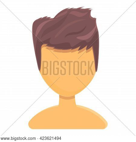 Thick Hair Icon. Cartoon Of Thick Hair Vector Icon For Web Design Isolated On White Background