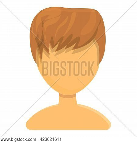 Creative Haircut Icon. Cartoon Of Creative Haircut Vector Icon For Web Design Isolated On White Back