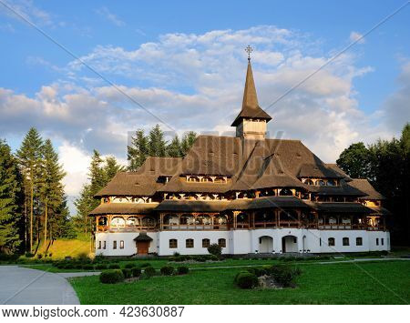 Peri Sapanta Monastery, the tallest church in the world with a maximum height of 78 meters, Maramures, Romania, Europe