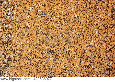 Texture Cork Backing For Flooring Laminate. Background