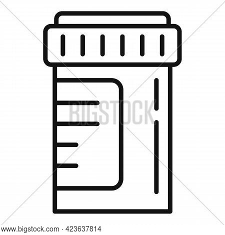 Antidepressants Icon. Outline Antidepressants Vector Icon For Web Design Isolated On White Backgroun