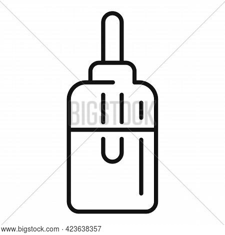 Hyaluronic Acid Icon. Outline Hyaluronic Acid Vector Icon For Web Design Isolated On White Backgroun
