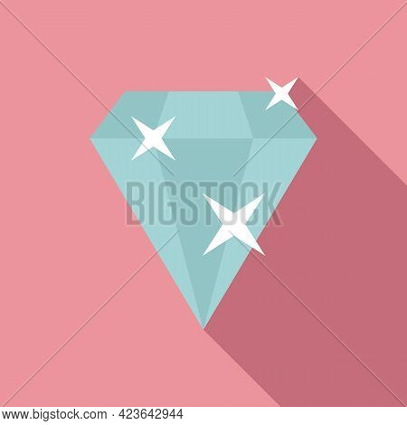 Bonus Diamond Icon. Flat Illustration Of Bonus Diamond Vector Icon For Web Design