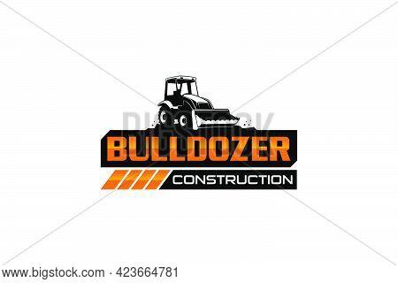 Butler Logo Template Vector. Heavy Equipment Logo Vector For Construction Company. Creative Excavato