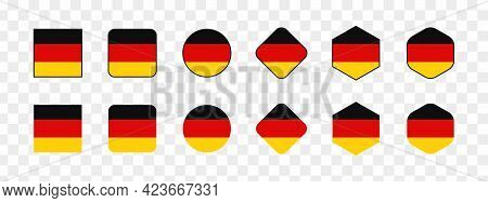 National flag of Germany, Germany flag in standard proportion color mode RGB. Germany flag. Germany flag icon, Germany flag, Germany flag image, Germany vector image, Germany flag png, Germany flag jpg, flag of national of Germany. vector ilustration
