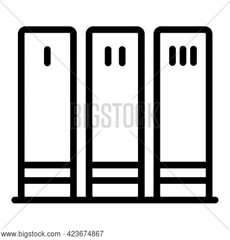 Perfectionism Icon. Outline Perfectionism Vector Icon For Web Design Isolated On White Background