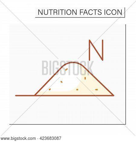 Sodium Color Icon. Sodium Bicarbonate. Nutrient Supplements. Nutrition Facts. Healthy, Balanced Nutr
