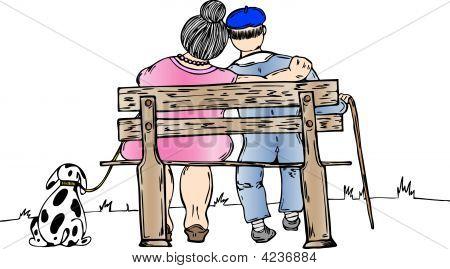 Eldery Couple