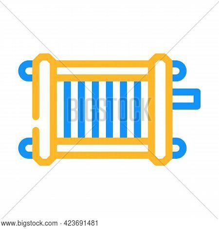 Generator Hydrogen Color Icon Vector. Generator Hydrogen Sign. Isolated Symbol Illustration