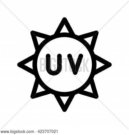 Cosmetic Sun Icon