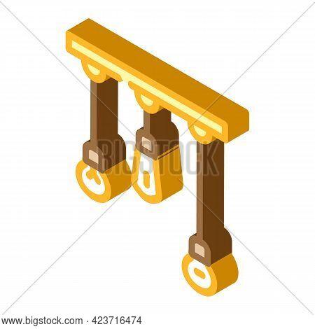 Lightbulbs Design Electrical Tool Isometric Icon Vector. Lightbulbs Design Electrical Tool Sign. Iso