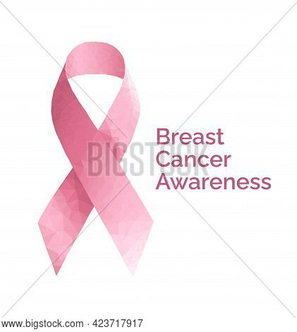 Breast Cancer October Awareness Month Campaign Background. Women Health Vector Design. Breast Cancer