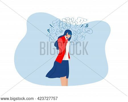 Woman Suffers From Obsessive Thoughts, Headache, Unresolved Issues, Psychological Trauma, Depression
