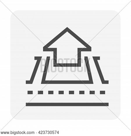 Real Estate Business And Land Investment Vector Icon Set Design, 48X48 Pixel Perfect And Editable St