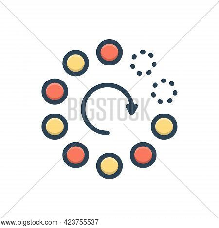 Color Illustration Icon For Gradually Buffering Slowly Stilly Doggo Collection Download