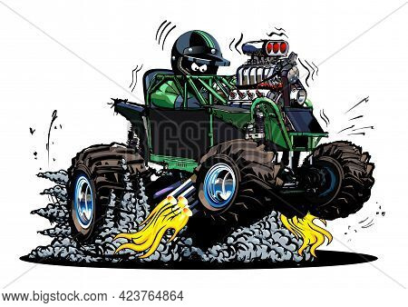 Vector Cartoon Buggy. Available Eps-10 Vector Format Separated By Groups And Layers For Easy Edit